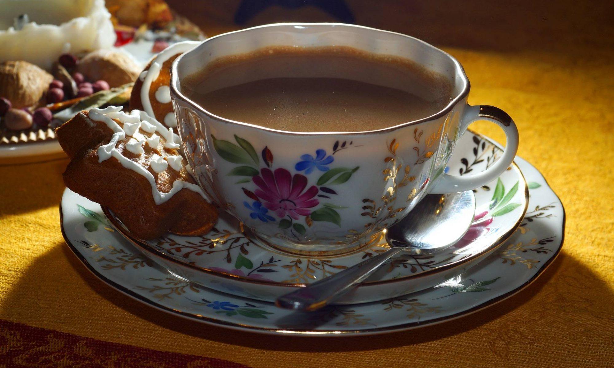 bij tante Aag op de koffie